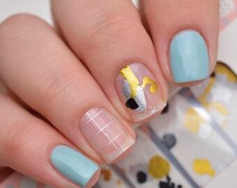 58 ganesh symbol nail art megapacks gn1 hindu meditation indian metallic paint splash nail polish wraps prinsesfo Choice Image