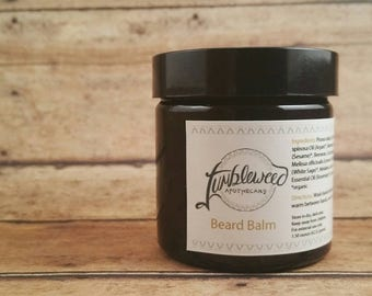Beard Balm : Pomade • Wax • Organic • Botanically Infused • Natural