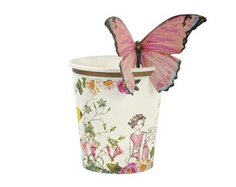 Truly Fairy Butterfly Cups x 12