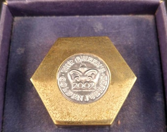 Paperweight Golden jubilee