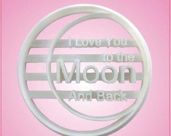 To The Moon Cookie Cutter