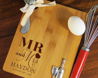 personalized cheese board set custom cheese board set