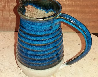 Tactile Blue Jug