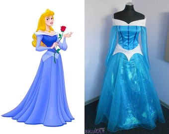 Aurora from Sleeping Beauty blue dress Hand made
