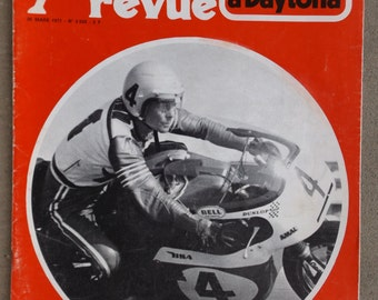 MOTORCYCLE magazine from the 70's / French vintage motorcycle magazine / old motorcycle Collection