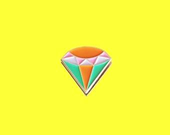 Enamel Pin / Lapel Pin - Glam Rock