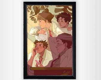 Aoba Johsai (Haikyuu Print)