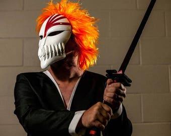 Bleach Mask Cosplay | Cosplay Mask | Mask | Comic Con | Cosplay Prop | Costume | Prop | Anime | Manga | Gift | Present