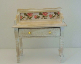 doll house furniture, miniature furniture, 12th scale furniture, miniature sideboard,