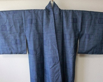 Kimono with the lining of the aestheometry
