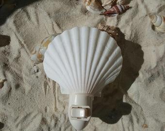 Natural Sea Shell Nightlight, Shell Nightlight