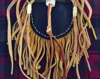 Handmade Leather Medicine Pouch