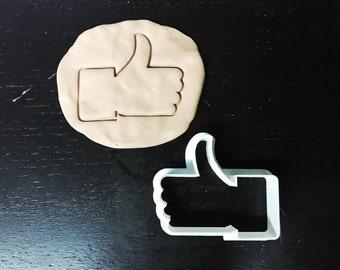 Facebook like cookie cutter, Social media, cookie cutter, bake, sugar, cake, party, kitchen, cook, dessert