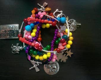 Charm Bracelet Multi-Color