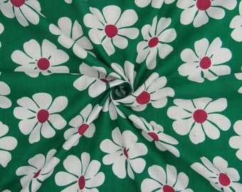 Indian Apparel Fabric Material Cotton Fabric For Sewing Designer Dressmaking Cotton Fabric Supplies Floral Printed Sewing Material ZBC6334B