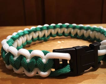 Cobra Stitch Paracord Collar