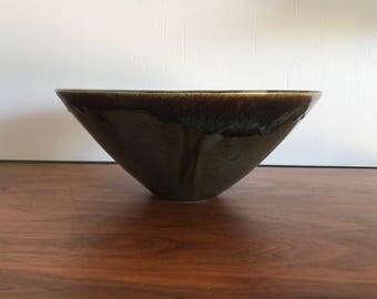 Large Studio Art Pottery Bowl