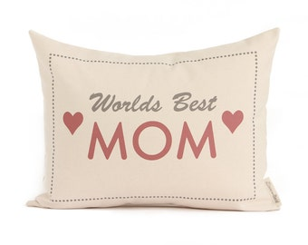 Gift For Mom, Gift from Daughter, Home Decor, Mom, Throw Pillow, Decorative Pillows
