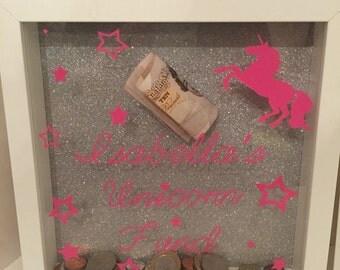 Money box frames
