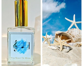 Seashells at the Beach Perfume - G Note - Music Perfume - Synesthesia Inspired Scents