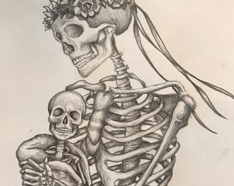 Parent and Child Skeletons