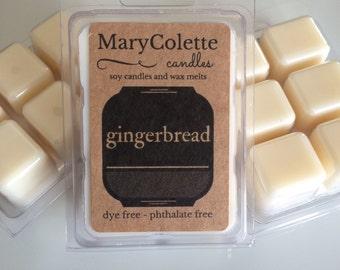 Gingerbread Soy Wax Melts | Soy Wax Melts | Caramel Popcorn | Holiday Wax Melts