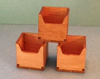 1:12 Dollhouse Miniature 3 Cubes Kit DI SO131