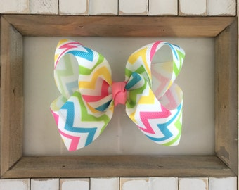 Easter Boutique Hair Bow, Easter Hair Bow, Girl Hair Bow, Baby Bow, Easter Bow, Toddler Hair Bow