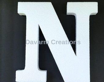 11 INCHES Alphabet Letters, Foam letter,Polystyrene letter, 11 inches letter