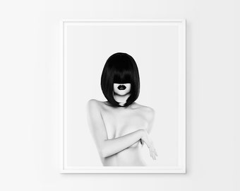 Black And White Fashion Print, Fashion Photography, Fashion Printable, Fashion Wall Art, Fashion, Fashion Decor, Fashion Art,