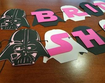 Star Wars Baby Shower Banner Its A Boy Banner Star Wars Kid