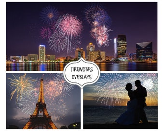 Fireworks Overlay, Sparklers, Overlays, New Year, Christmas, Holiday, Sky Show, Wedding, Background, Photoshop, Photography, Winter, Night,