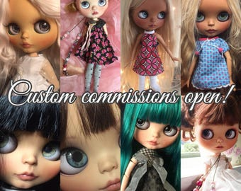 Commission for custom Blythe dolls. (Price is Incl. Base doll!)
