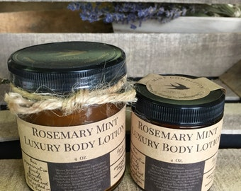 Rosemary Mint  All Natural Body Lotion