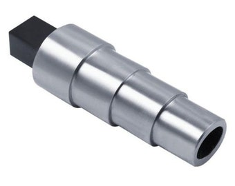 Stepped Mandrel With Tang Oval Profile Cast Iron Bracelet Mandrel Vice Mount