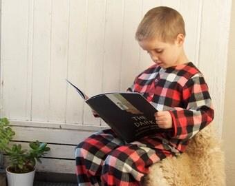 Fireside Pyjamas | Luxurious Flannel Sleepwear for Kids Children's PJs Pajamas