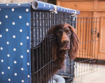 Medium Dog Crate Cover- Crate Cover - Dog Crate – Kennel Cover - Dog Accessories – Kennel Cover – Pet Crate Cover - Dog Cage Cover - Pets