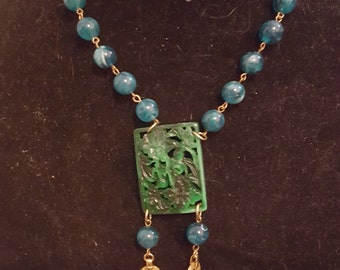 Jade style Necklace