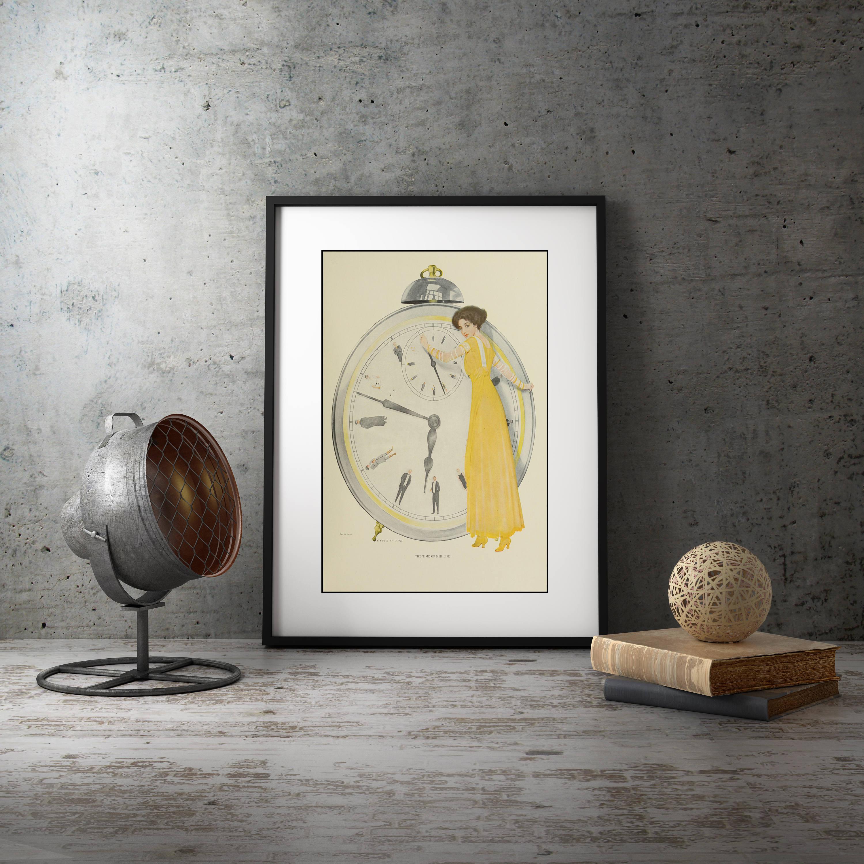 Wall Art for Living Room, Bedroom Framed Art, Art Deco Decor, Wall ...
