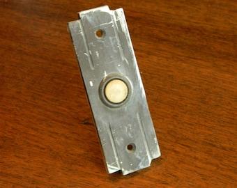 Bronze Doorbell, Vintage Doorbell, Antique Door Bell, Doorbell Plate, Doorbell Cover, Antique Doorbell, Brass DoorBell, Button Doorbell