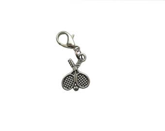 Tennis racket pendant of charms charm bracelet Exchange trailer