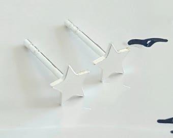 Star Earrings, Sterling Silver Star Earrings, Silver Star Earrings, Silver Star, Star Charm, Gift For Her, Alexia Jewellery