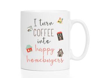 Personalized Realtor Mug / Realtor Gift / Closing Gift / Realtor Closing Gifts / Gift for Realtor / Real Estate Agent Gift, Real Estate Mug