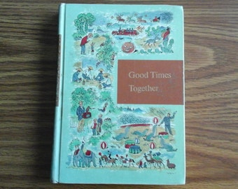 Through Golden Windows, Good Times Together, 1958, Childrens Story Book