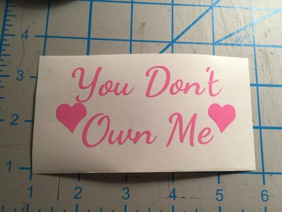 you don t own me 2 pdf