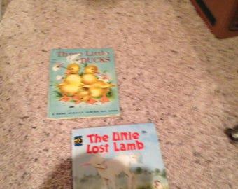 Vintage small childrens books