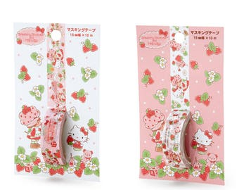Hello Kitty and Strawberry Shortcake Masking Tape by Sanrio
