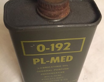 Government issue military lubricating oil