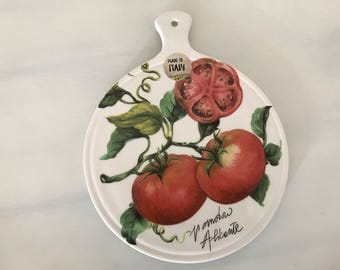 Ceramic Cutting Board / Board for Appetizers  / Italian Plate / Serving Board / Cheese Tray