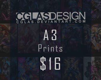 A3 Prints of your choice